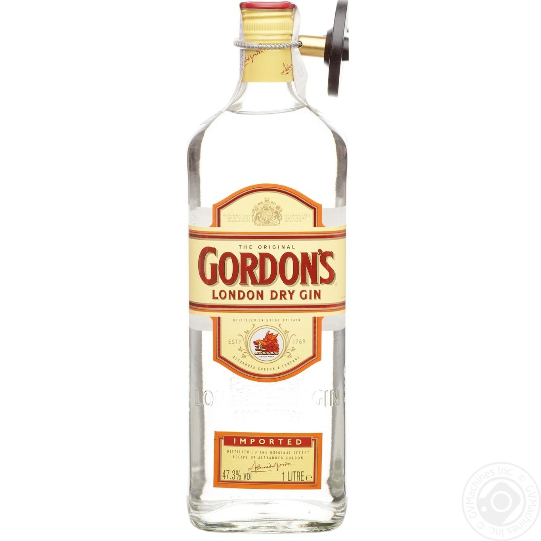 Джин Gordon's 1л