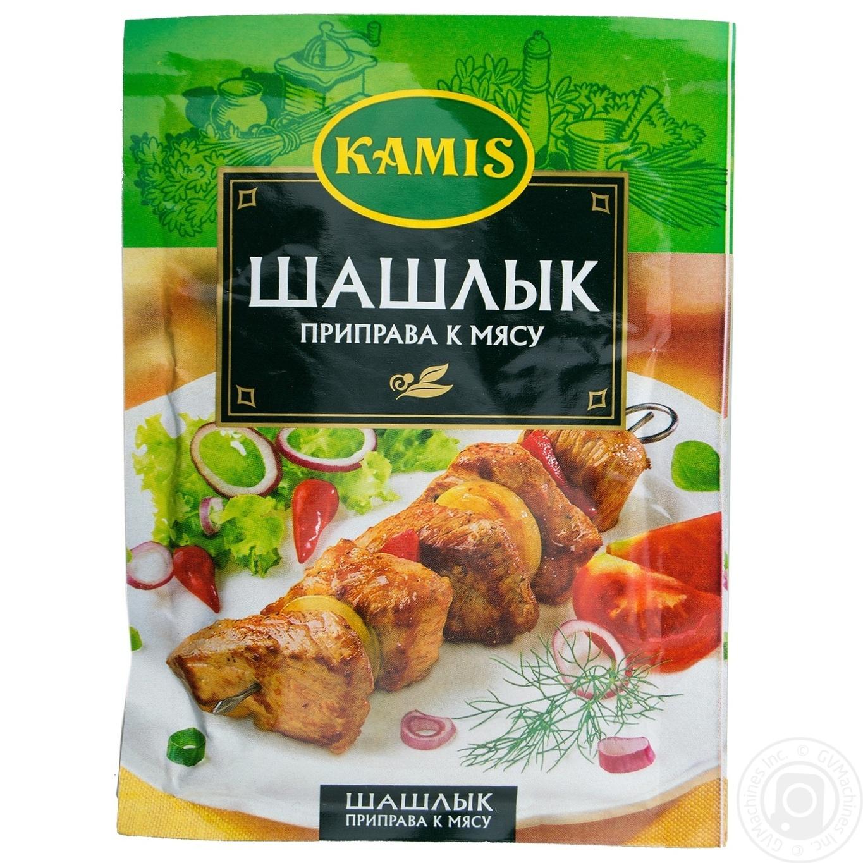 Приправа Камис Шашлык к мясу 25г