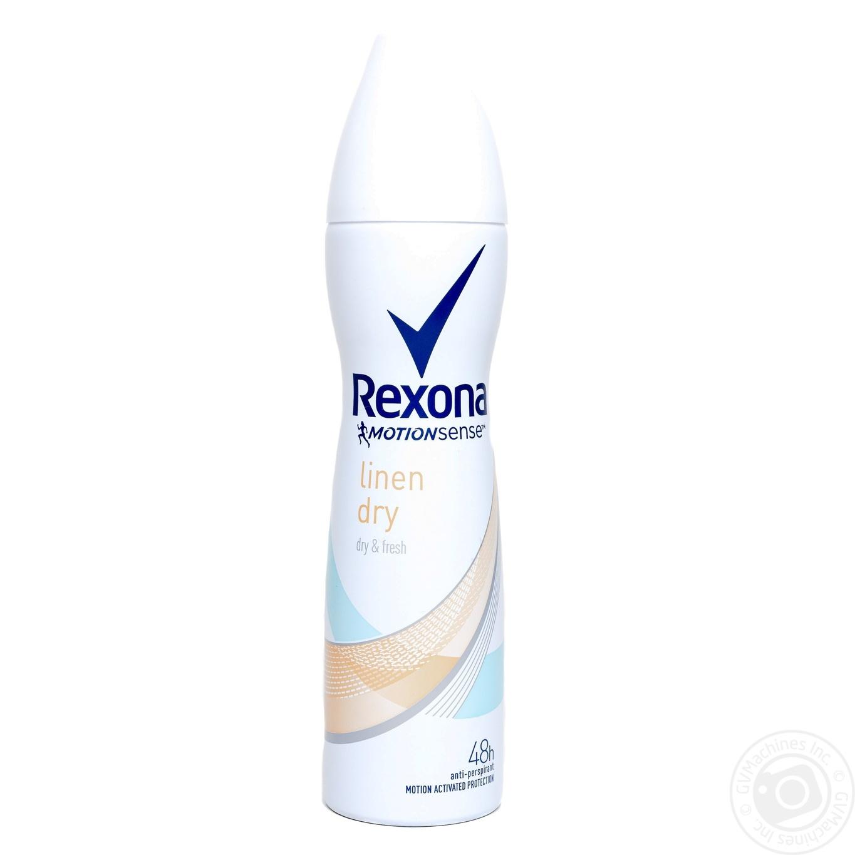 Rexona Motionsense Антиперспирант Комфорт льна 150мл