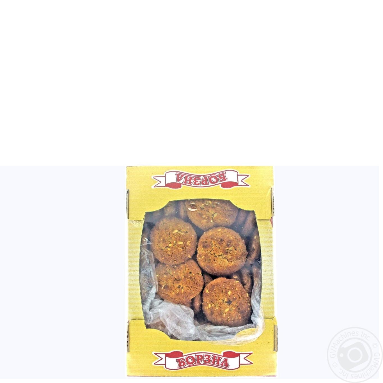 Печенье Борзна Мюсли с отрубями и имбирем 1,25кг