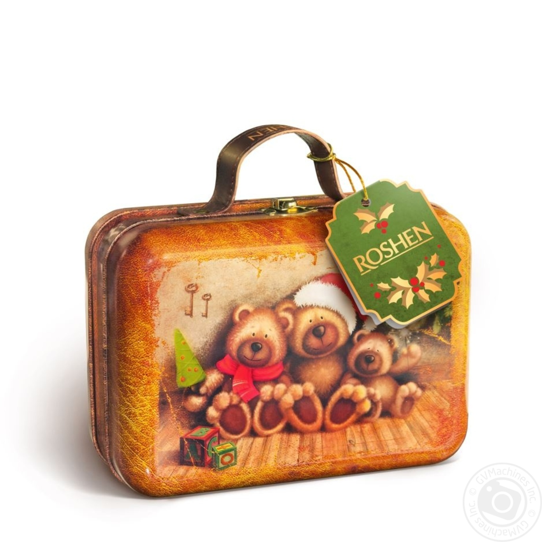 Новогодний подарок Рошен №14 Новогодний чемодан 421г