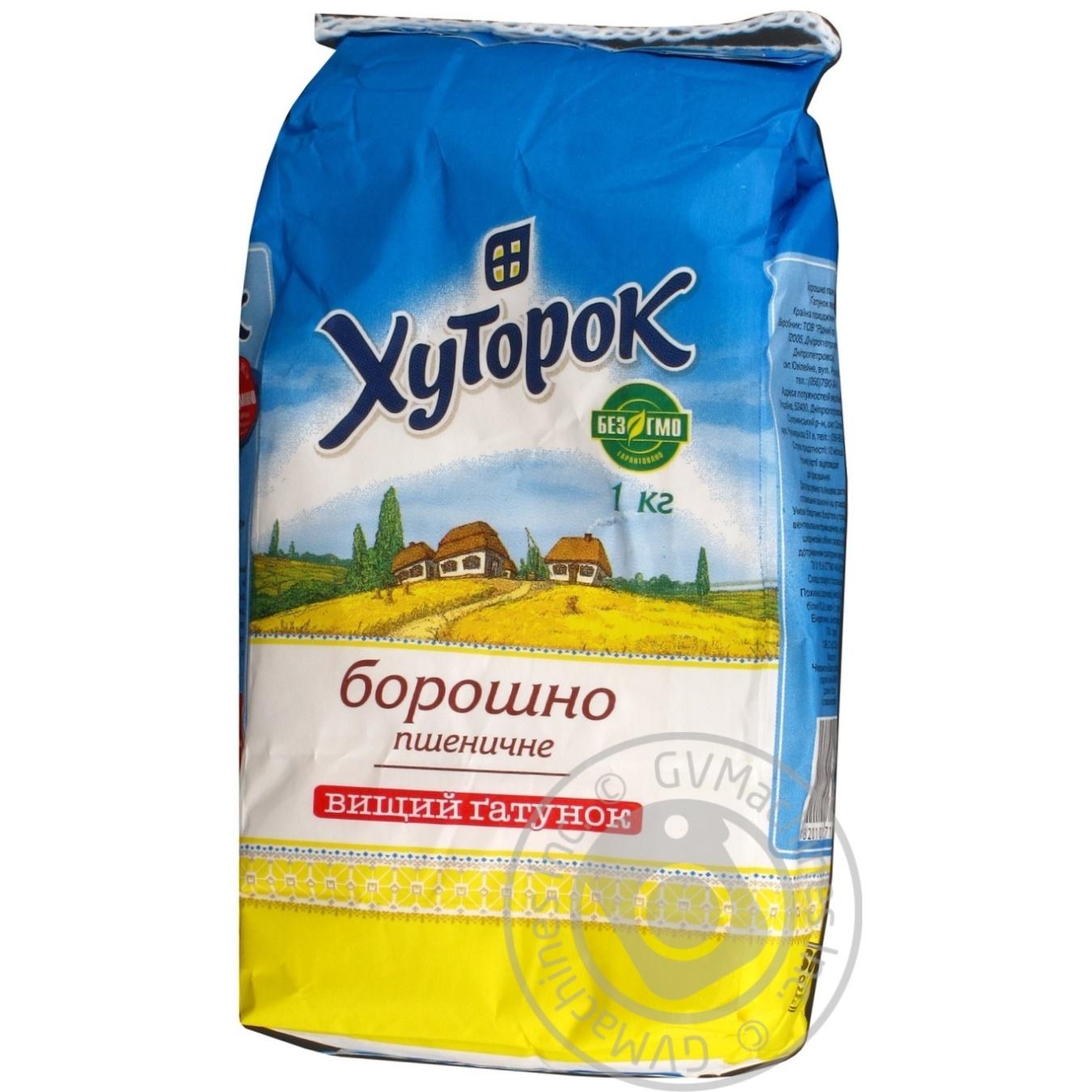 Мука Хуторок пшеничная 1000г