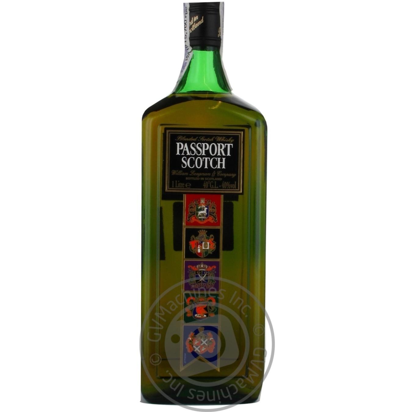 Виски Passport Scotch 1л