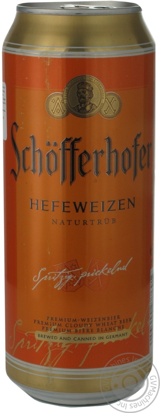 SCHOFFERHOFER ПИВО З ГРЕЙП. 0,