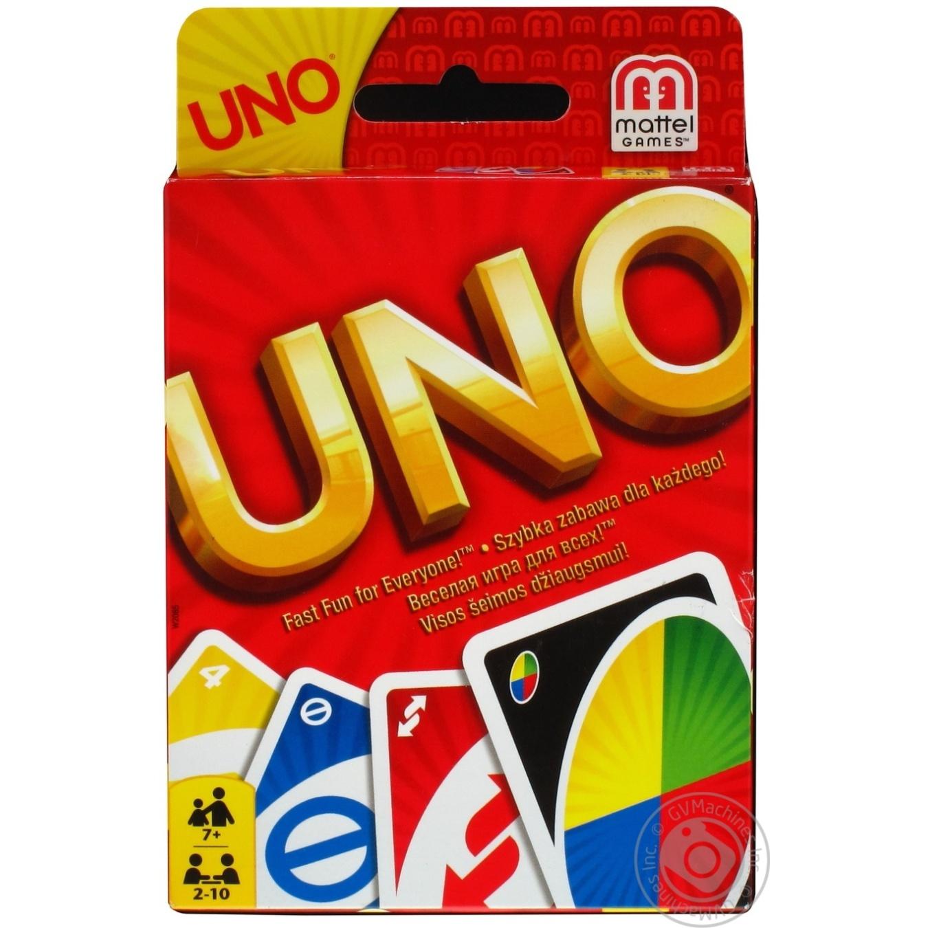 Игра карточная Uno