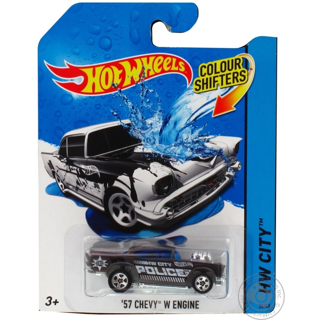 Машинка Hot Wheels Смени цвет в ассортименте