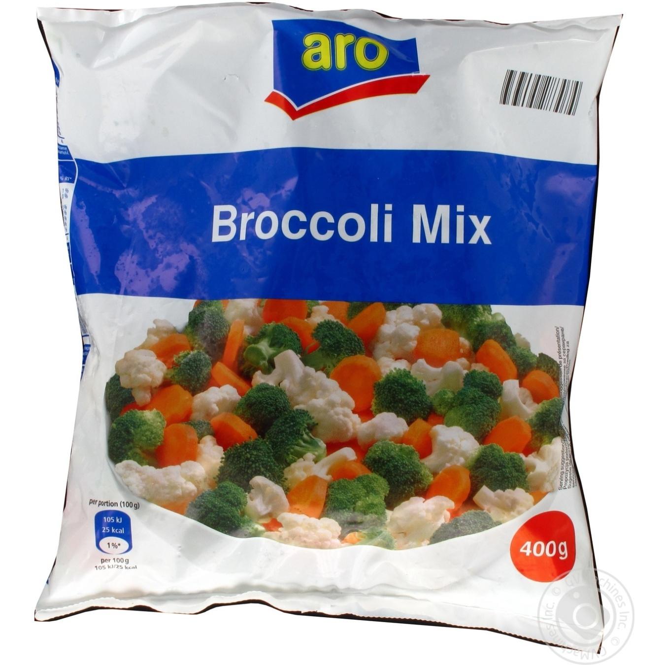 Овощная смесь с брокколи Aro свежезамороженная 400г
