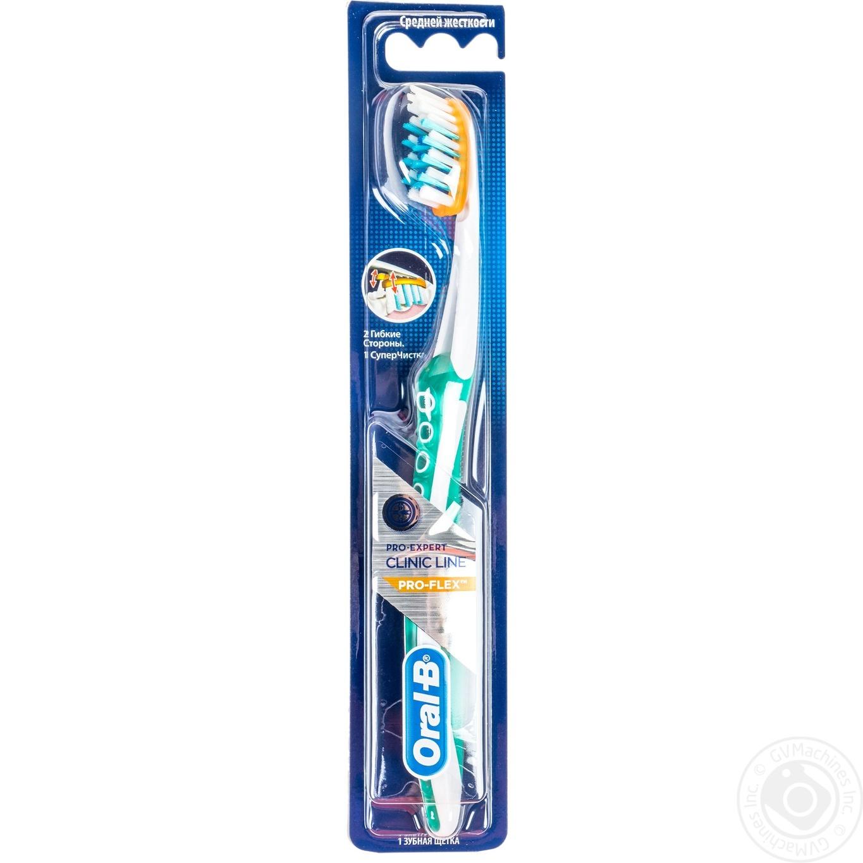 Зубная щетка Oral-B Pro-Expert Clinic Line Pro-Flex средняя