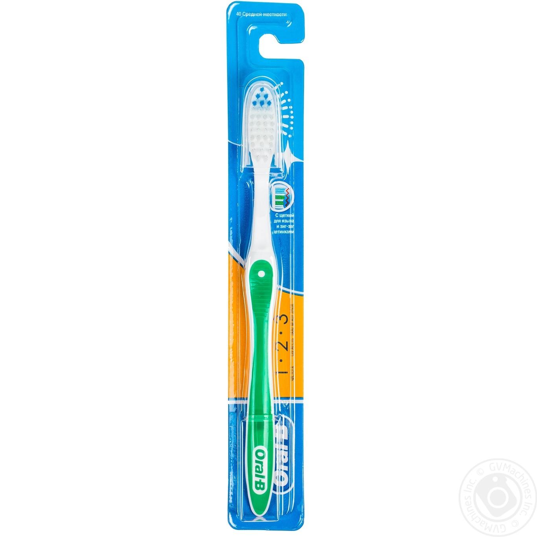Зубная щетка Oral-B Fresh Strong средняя