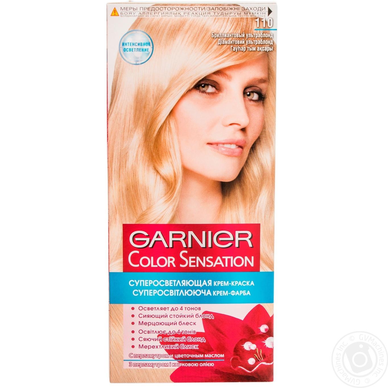 Краска для волос Garnier Color sensation №110 бриллиантовый ультраблонд 1шт