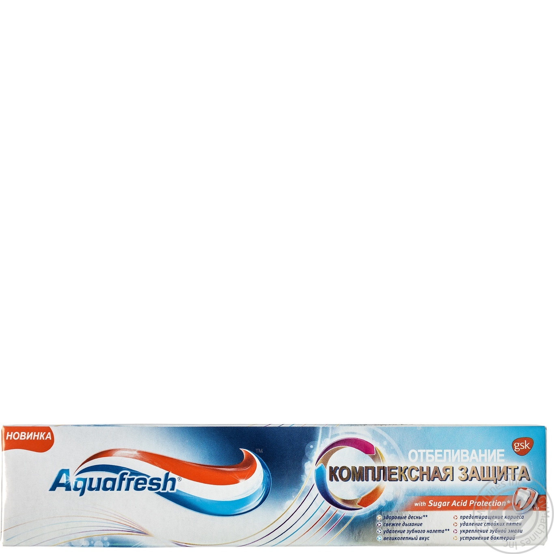 Зубная паста Aquafresh Комплексная ежедневная защита Отбеливающая 100мл Словацкая республика