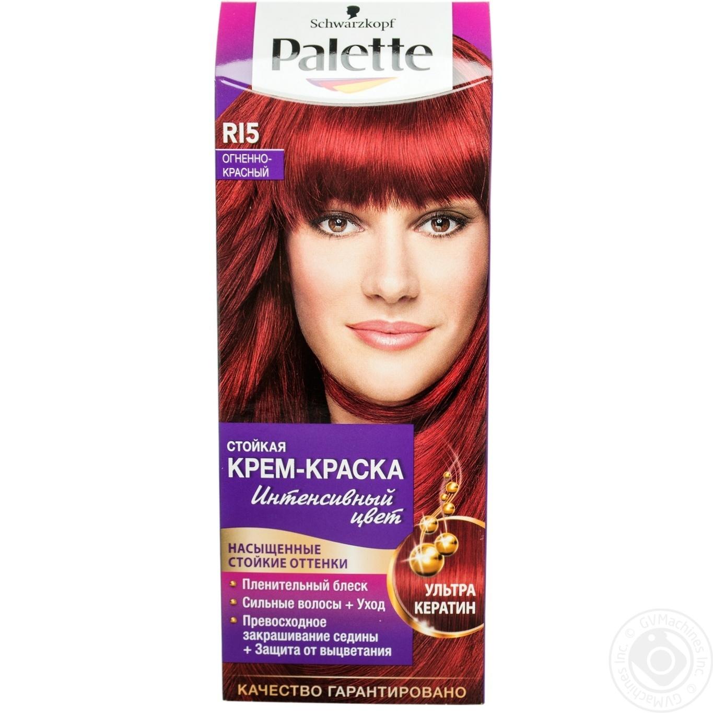 Краска для волос Palette RI5 Огненно-красный