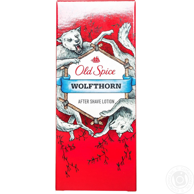 Лосьйон после бритья Old Spice Wolfthorn 100мл
