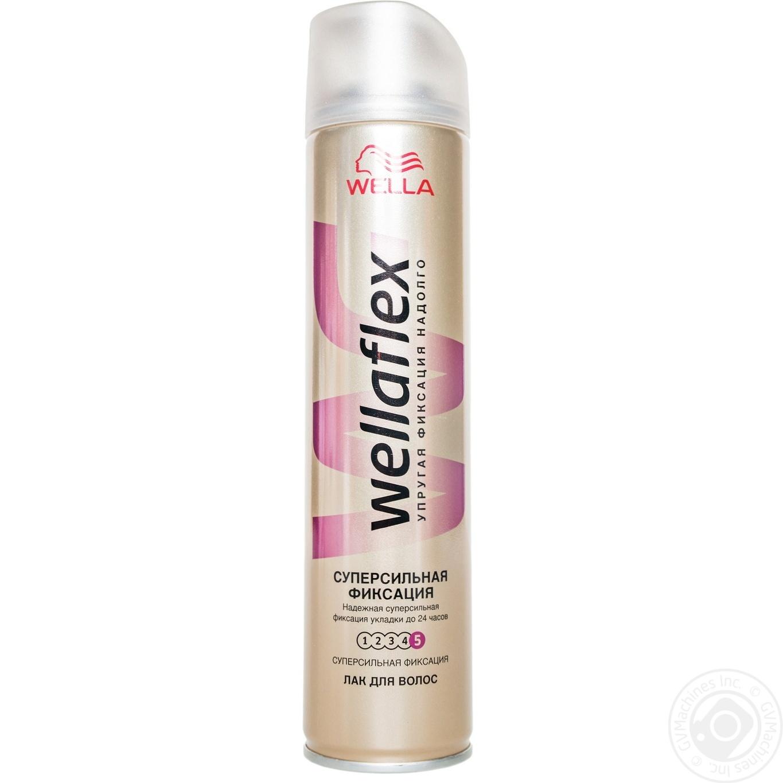 Лак Wellaflex для волос 250мл