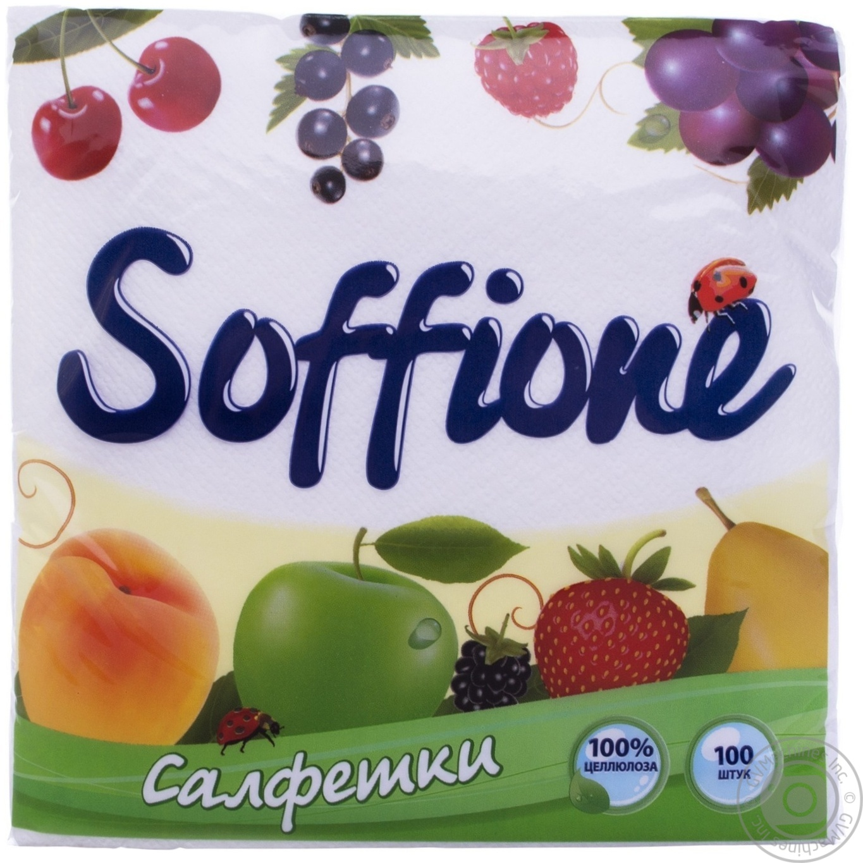 SOFFIONE СЕРВ.БІЛ 33Х33 1Ш 100
