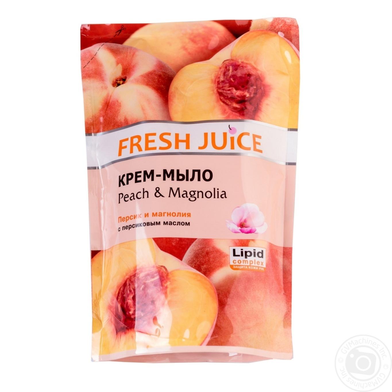 Мыло жидкое Fresh juice персик и магнолия дой-пак 460мл