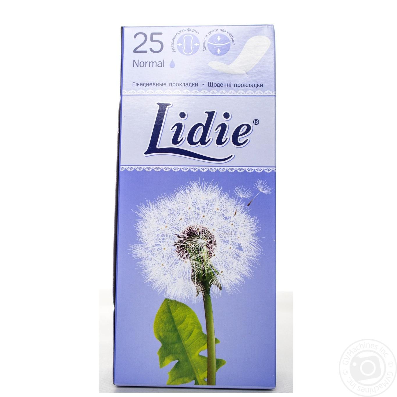 Прокладки ежедневные Lidie Normal 25шт