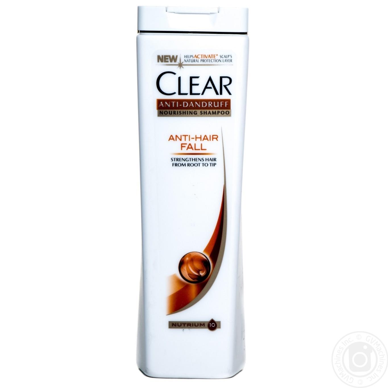 Clear Шампунь против перхоти для женщин Защита от выпадения волос 250мл
