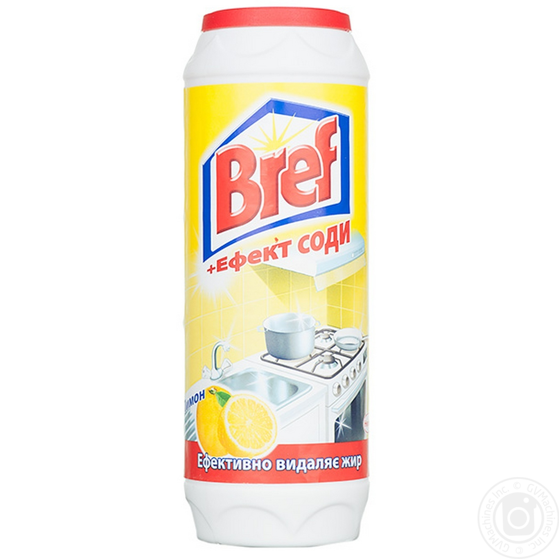 Порошок Бреф Лимон для чистки эффект соды 500г
