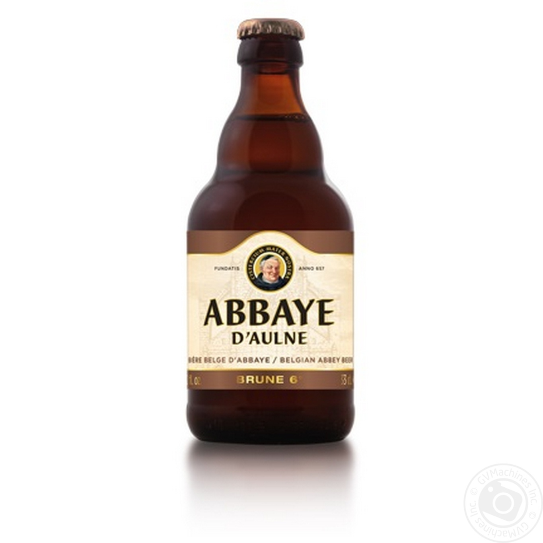 ABBAYE D'AULNE ПИВО 0.33Л BRUNE