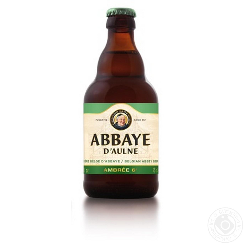 ABBAYE D'AULNE ПИВО 0.33Л AMBRE