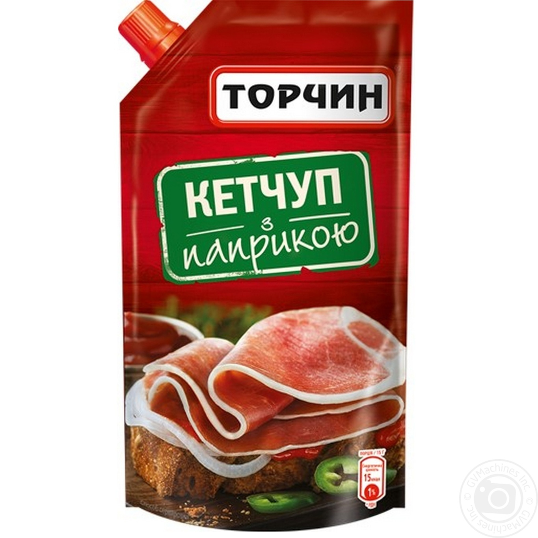 Кетчуп  Торчин С паприкой 300г