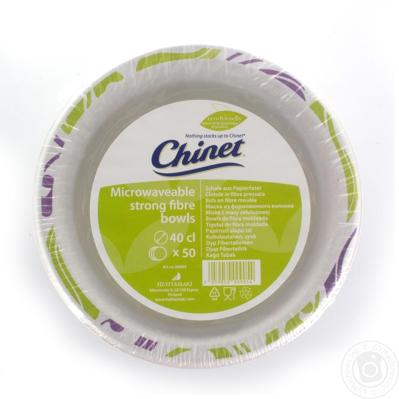 Миска бумажная Chinet 400мл