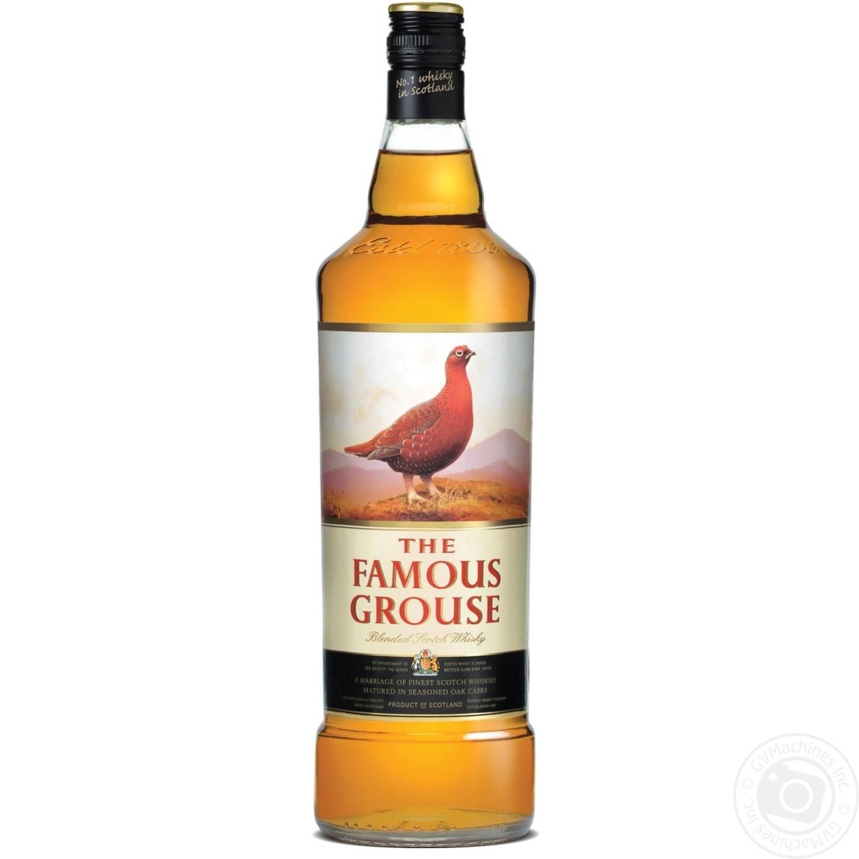 Виски Famous Grouse 1л