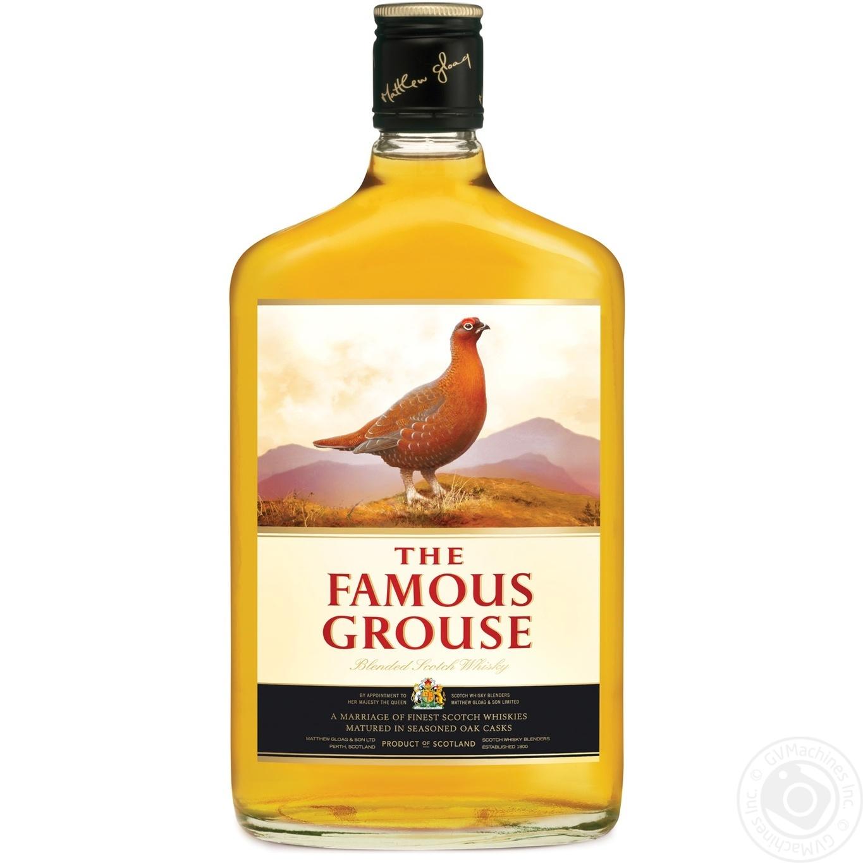 Виски Famous Grouse 0,5л