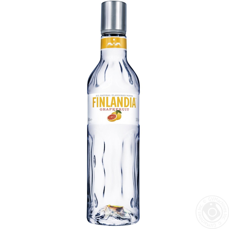 Алкогольный напиток Финляндия Грейпфрут 37.5% стеклянная бутылка 500мл