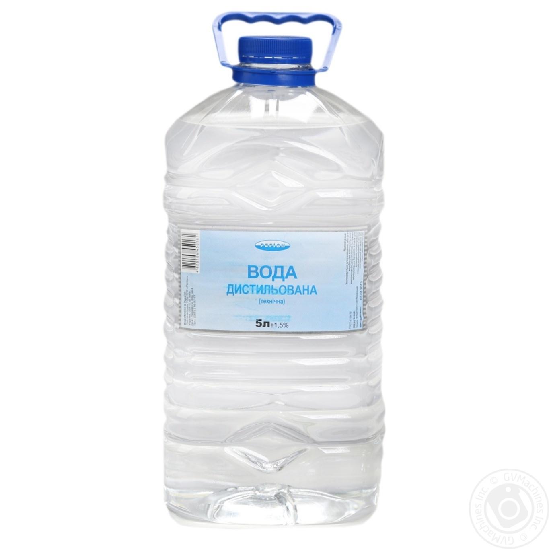 Вода Регион дистиллированная техническая 5л