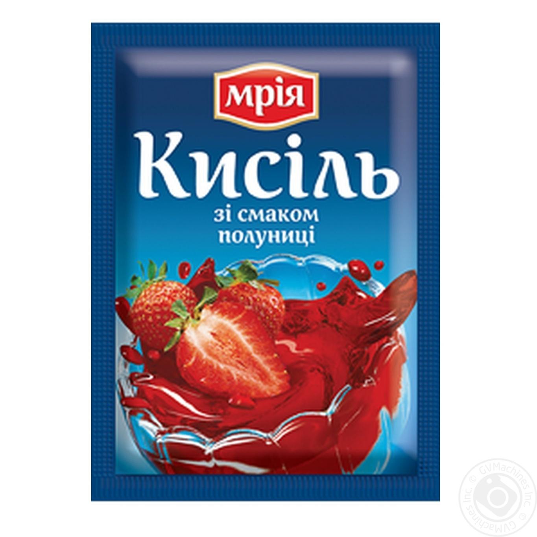 Кисель Мрія клубничный 90г