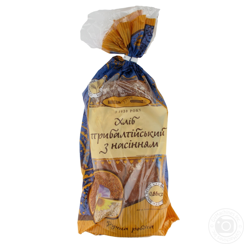 Хлеб Киевхлеб Прибалтийский с семенами 650г