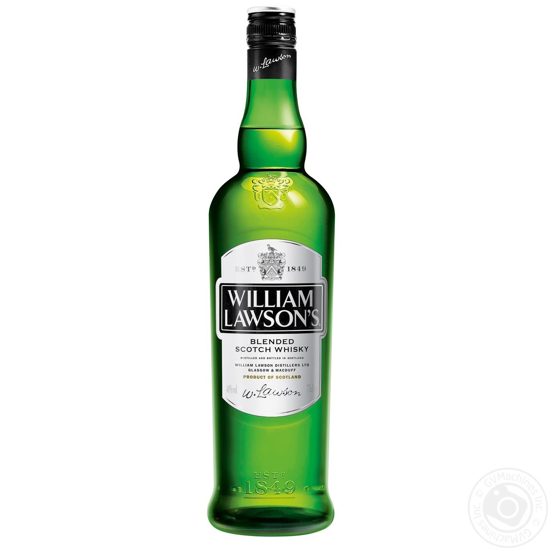 Виски William Lawson's 0.7л