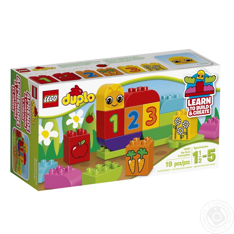 Конструктор LEGO DUPLO My First Моя веселая гусеница 10831