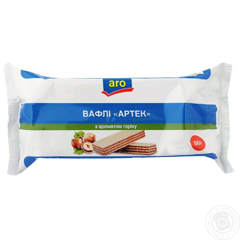 Вафли Aro Артек с ароматом лесного ореха 80г