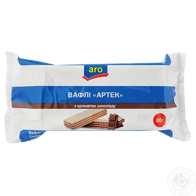 Вафли Aro Артек с ароматом шоколада 80г