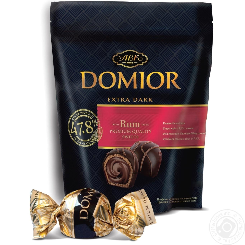 Конфеты АВК Domior со вкусом рома 102г