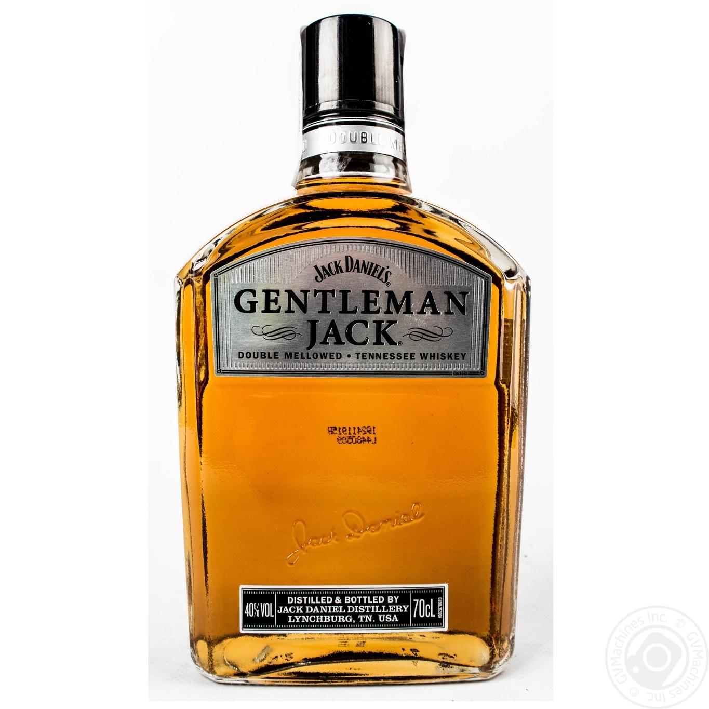 Виски Джентльмен Джек 40% 700мл