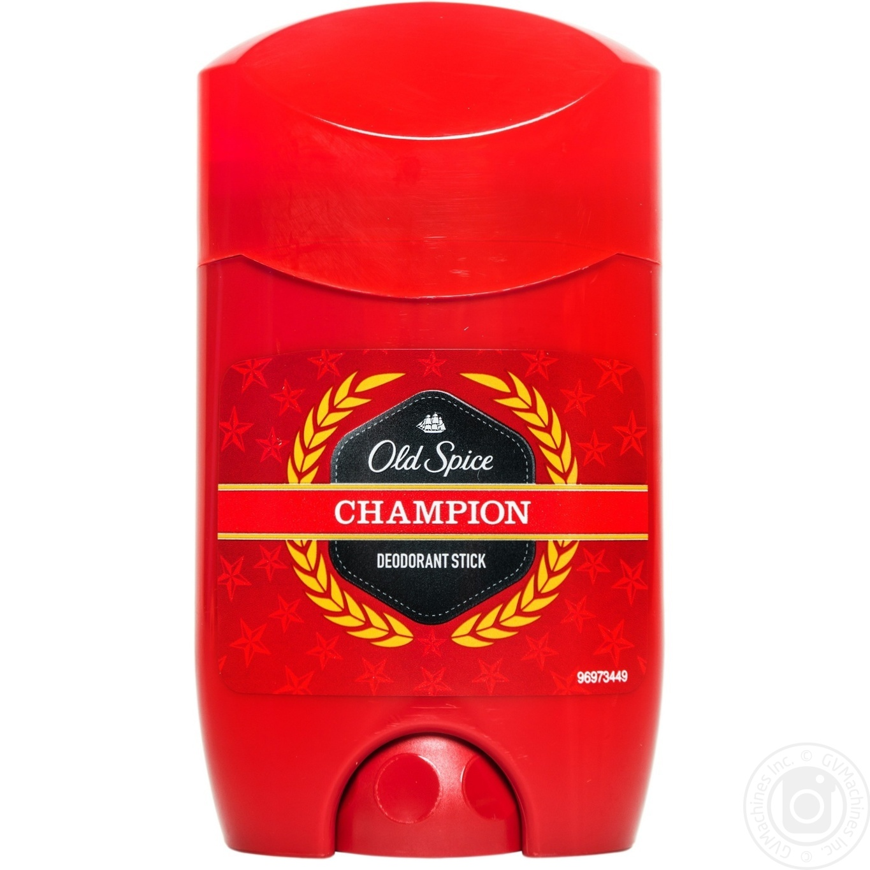 Дезодорант Old Spice Champion для мужчин твердый 50мл