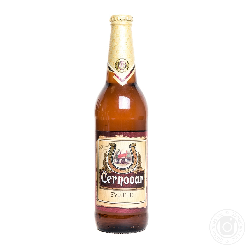 Пиво Чорновар светлое 4.9% 500мл