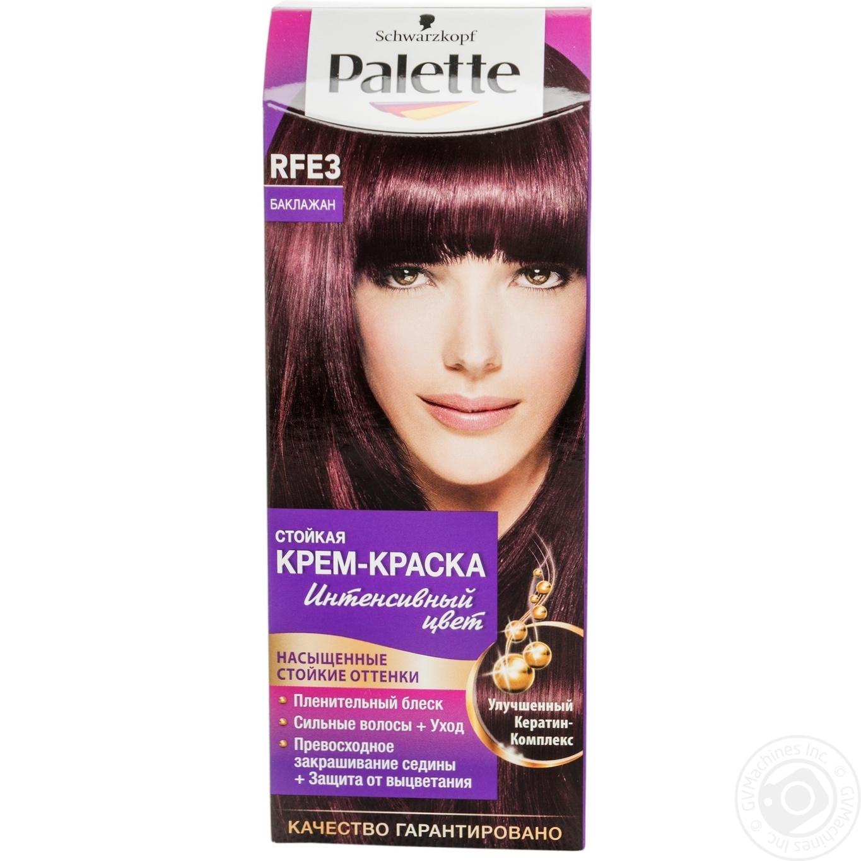 Краска для волос Palette RFE3 Баклажан