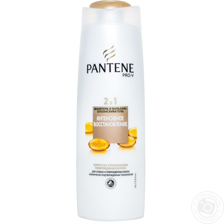 Шампунь Pantene 2в1 Интенсивное восстановление 400мл