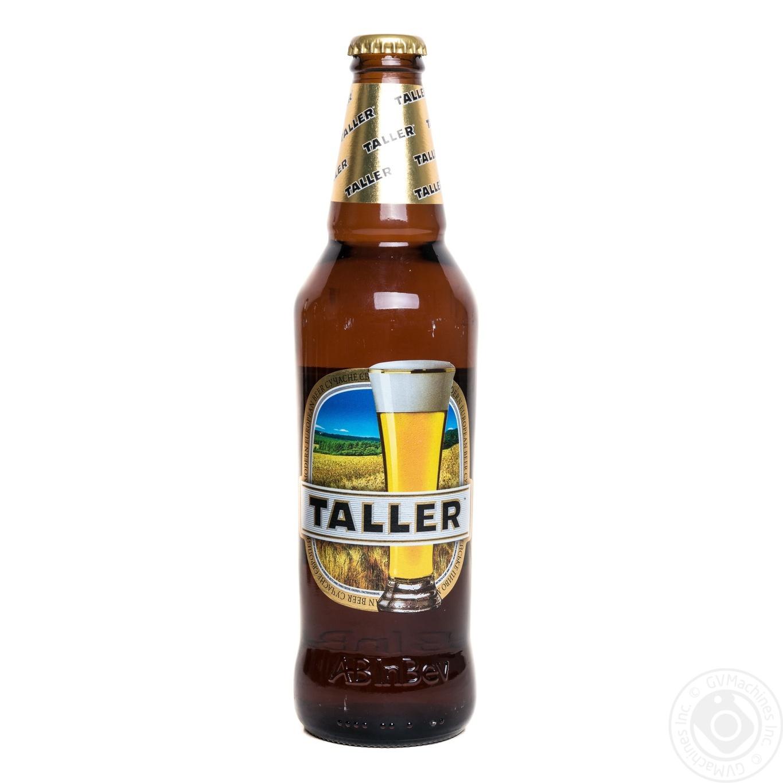 Пиво Таллер светлое пастеризованное 5%об. 500мл