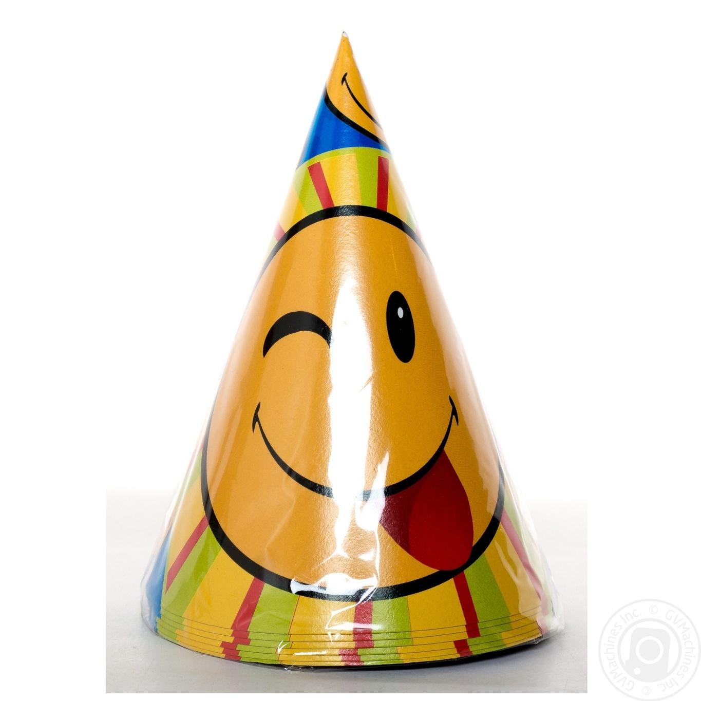 Колпачок Світ мрій Smile праздничный 6шт