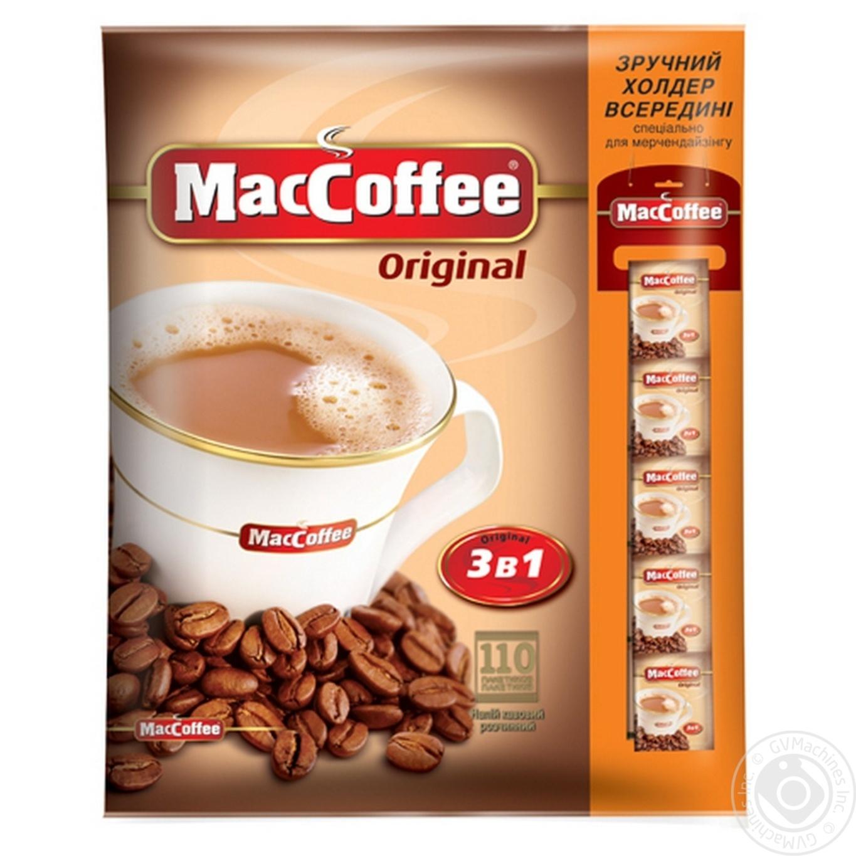 Напиток кофейный MacCoffee 3в1 растворимый 110*20г