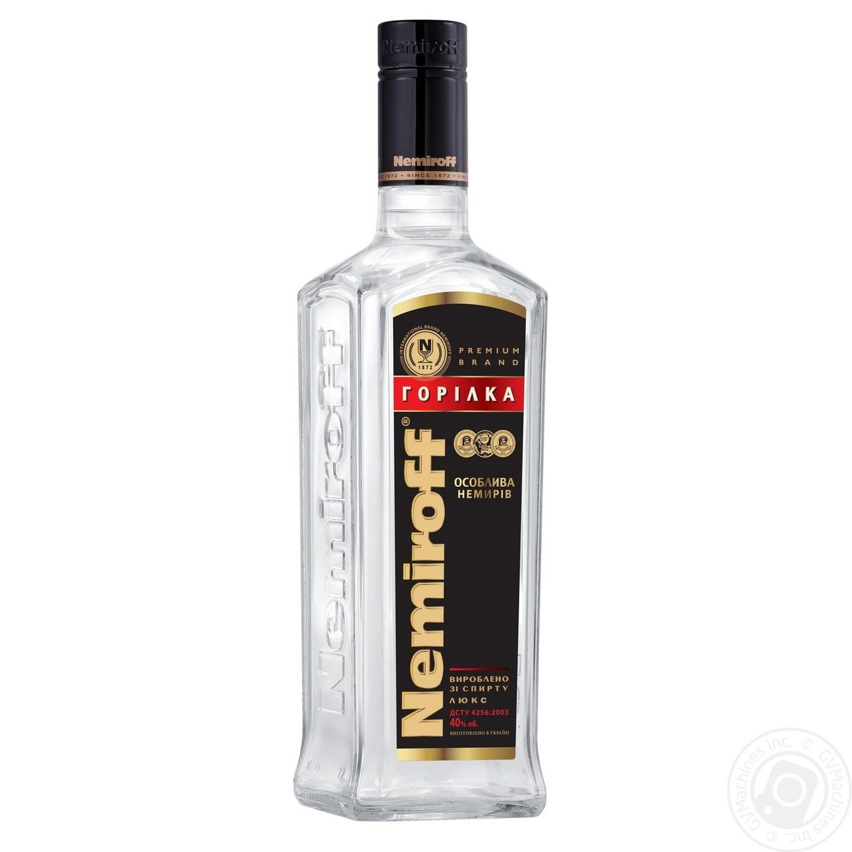 Водка Nemiroff особенная 0,2л