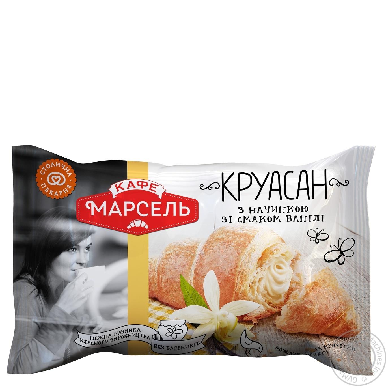 Круассан Кафе Марсель с начинкой со вкусом ванили 60г