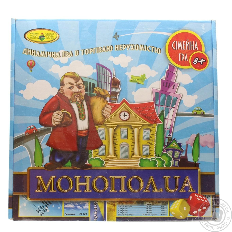 Развлекательная игра Монопол.ua