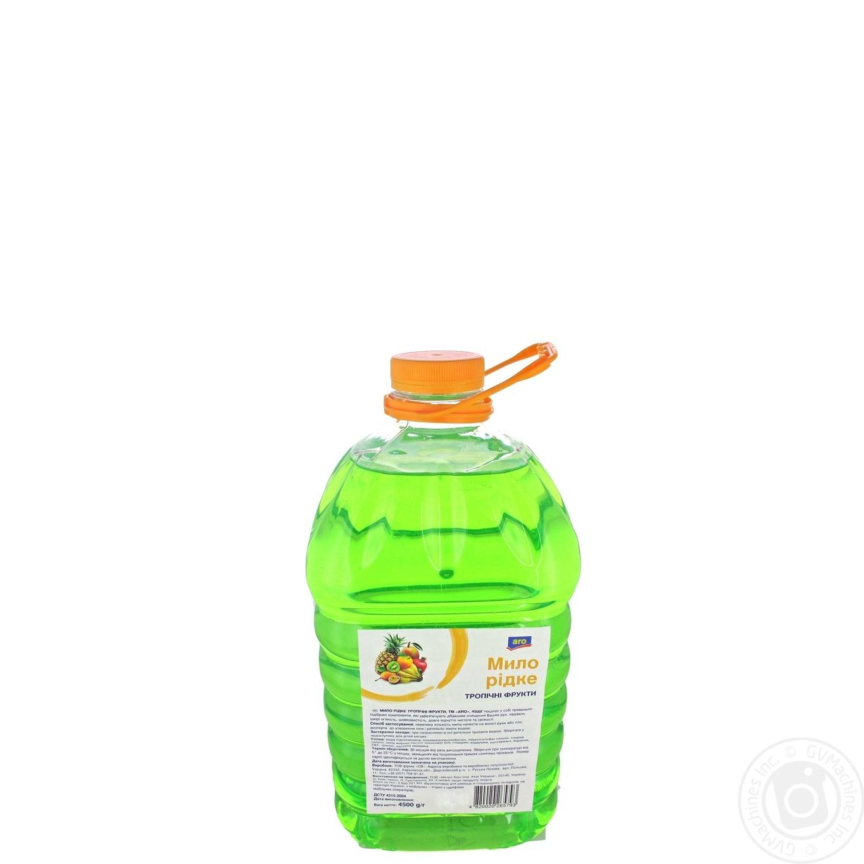 Мыло Aro жидкое тропические фрукты 4500г